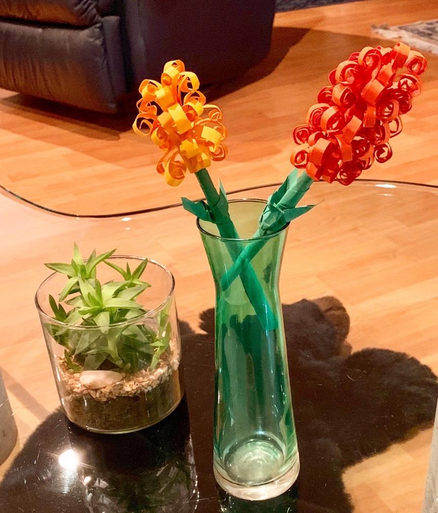 How to make paper flowers? / ¿Cómo hacer flores depapel?