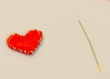 felter heart
