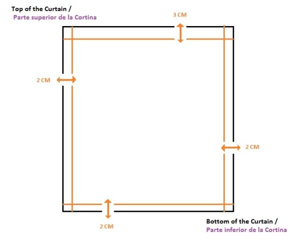 telas cortinas instruccion