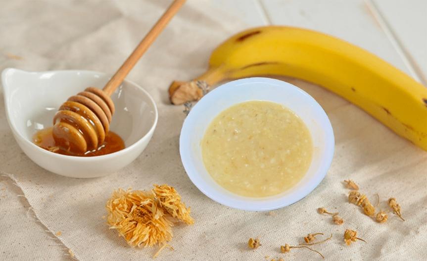 Honey banana mask clear skin/Piel lúcida máscarilla platanomiel
