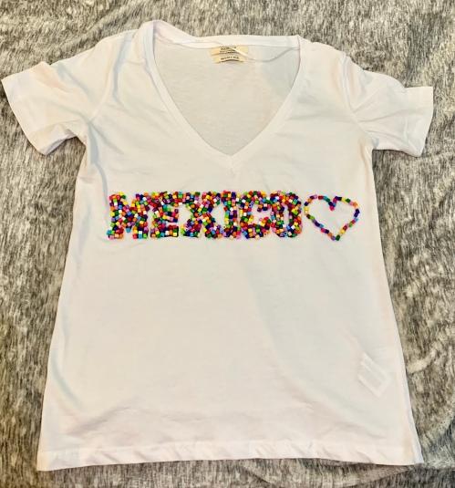 craft bead shirt