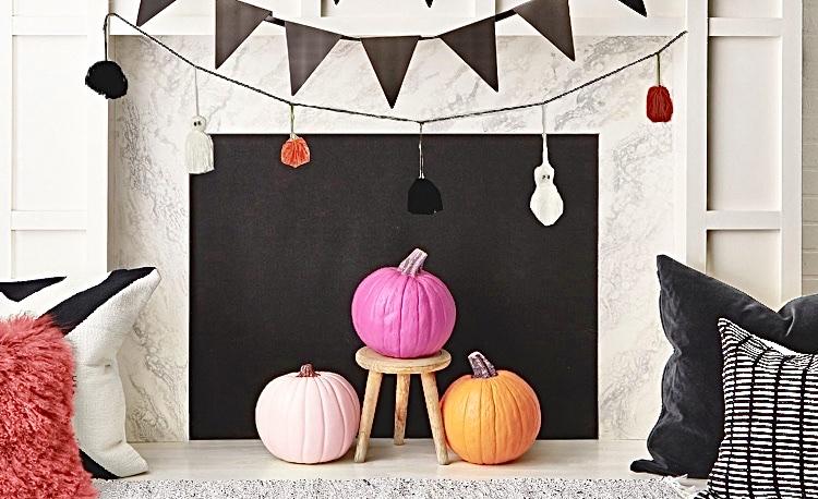 Make a Halloween garland? / Haz una guirnalda deHalloween