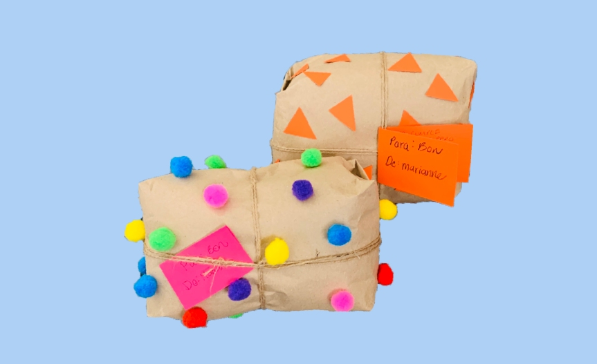 Gift wrapping ideas / Ideas para envolver regalos