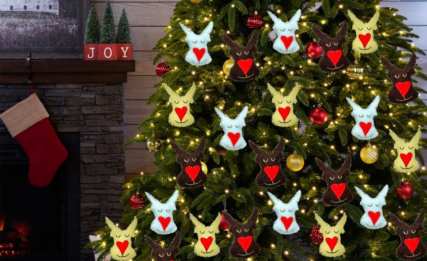Reindeer Christmas ornaments / Adornos de Navidad derenos