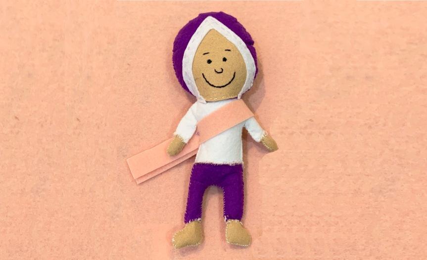 Make a Baltazar felt toy / Haz un juguete de fieltro deBaltazar