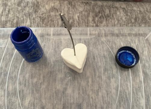 corazon plastilina moldeable