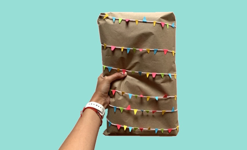 Homemade gift wrapping ideas/ Ideas caseras para envolver regalos