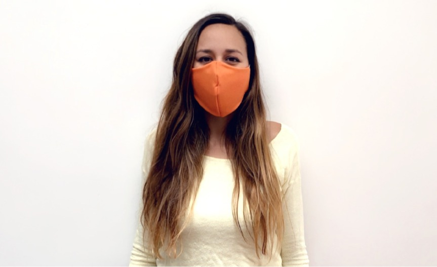 How to make a fabric face mask?/¿Cómo hacer un cubrebocas detela?