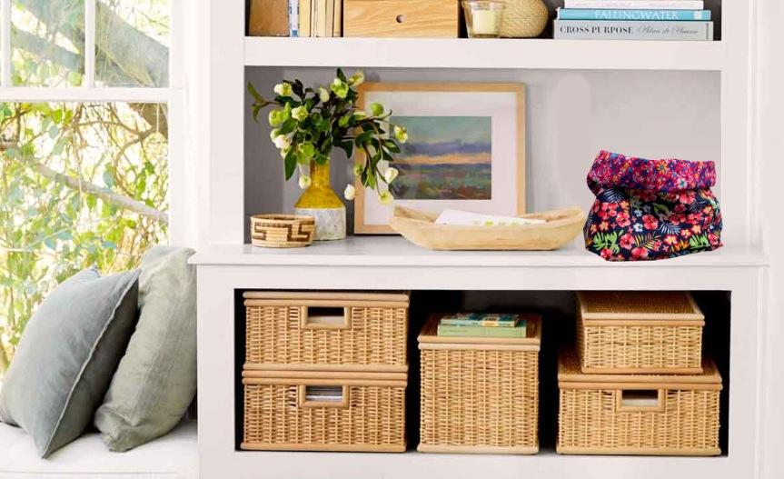 DIY Fabric Organizer Baskets / Canastas Organizadoras de TelaDIY